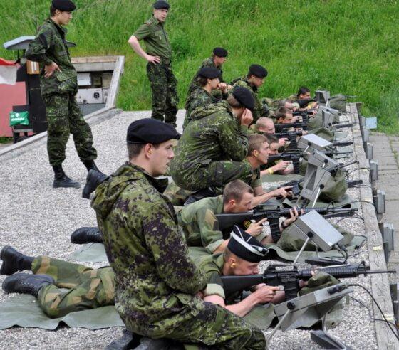 Skytestevne hos Telemark Gardistforening