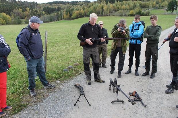Historisk tur på Lundehøgda